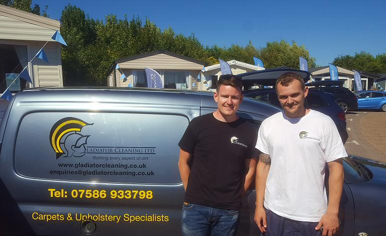 Our team - Steve and Danny